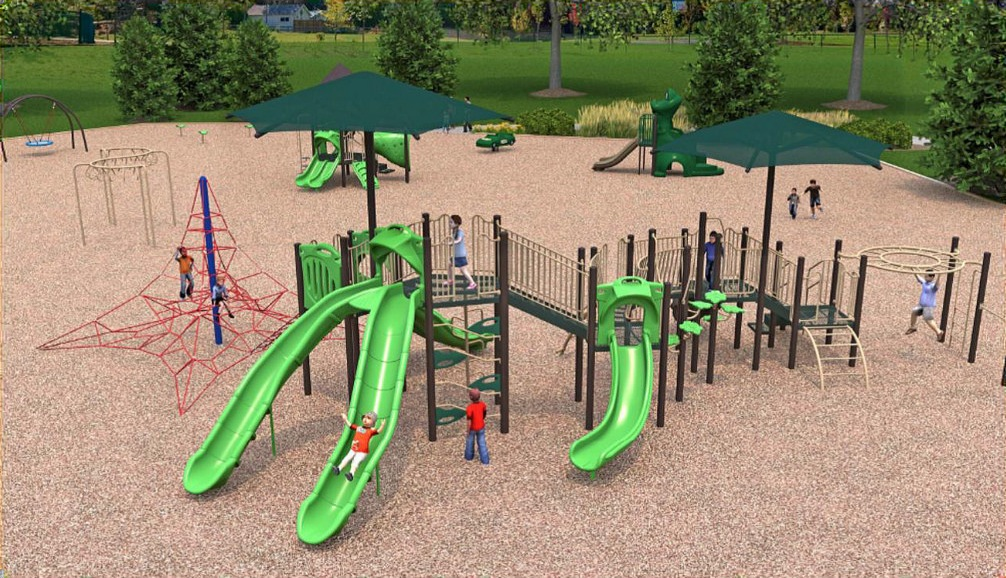 East Cobb Park Main Playground