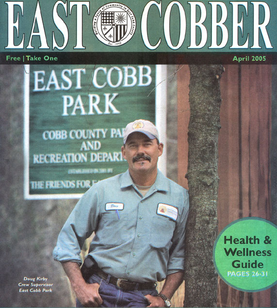 Doug Kirby. Crew Supervisor, East Cobb Park